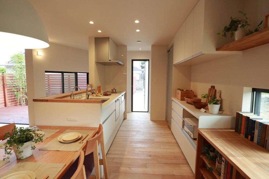 自宅キッチン写真
