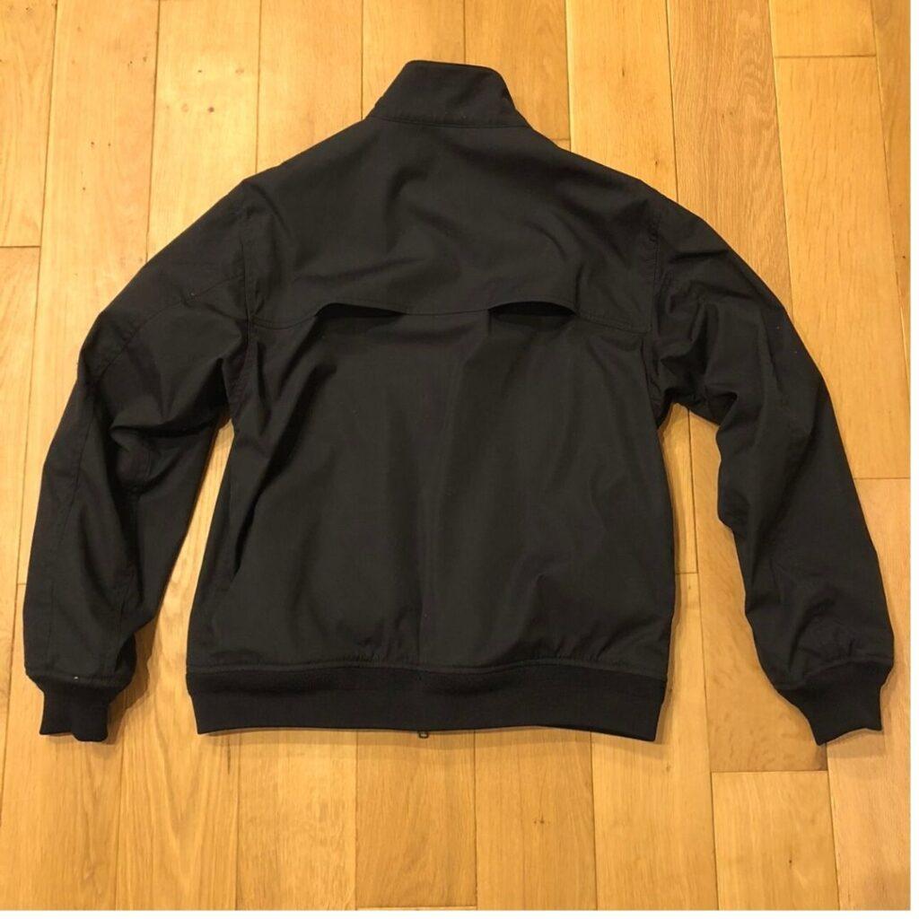 ノースフェイスパープルレーベル ビームス別注マウンテンフィールドジャケット背面写真